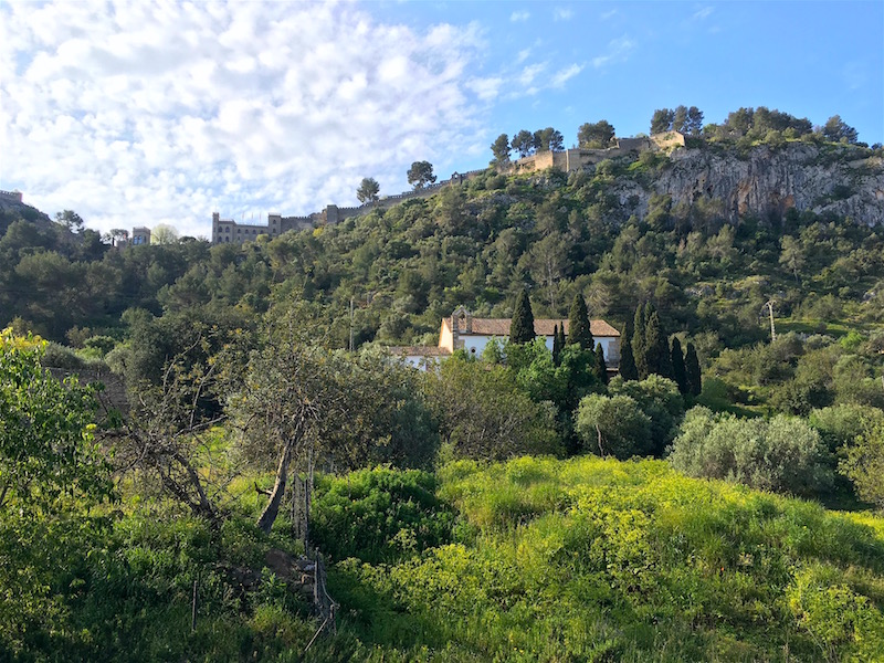 Xativa-Castle-hillside