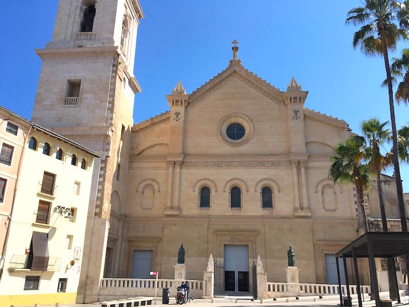 Collegiate Basilica Xátiva Spain