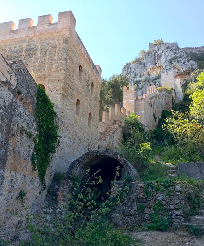 Torre del Sol Xativa Castle Spain