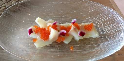 Smoked Butterfish Sashimi