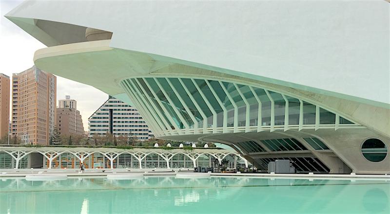 Reina Sofia Opera House Terrace Valencia