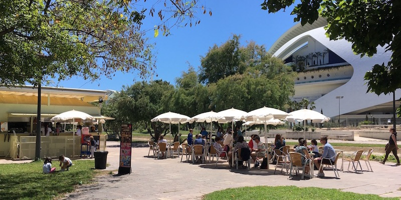 El Mirador Kiosko Bar Turia Garden Valencia