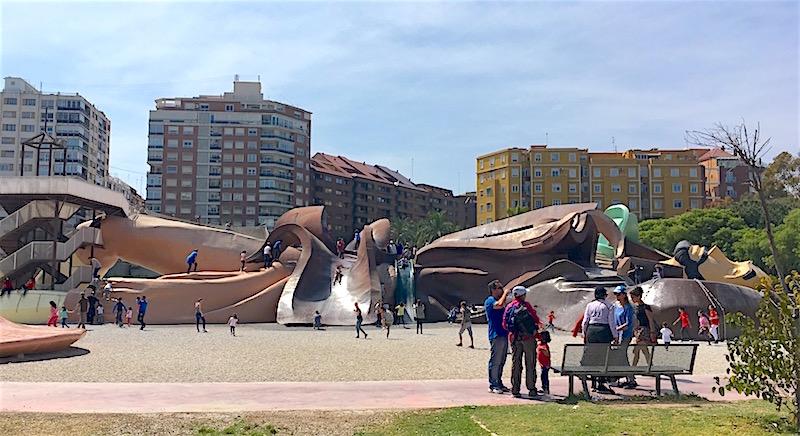 Parque Gulliver Turin Gardens Valencia Spain