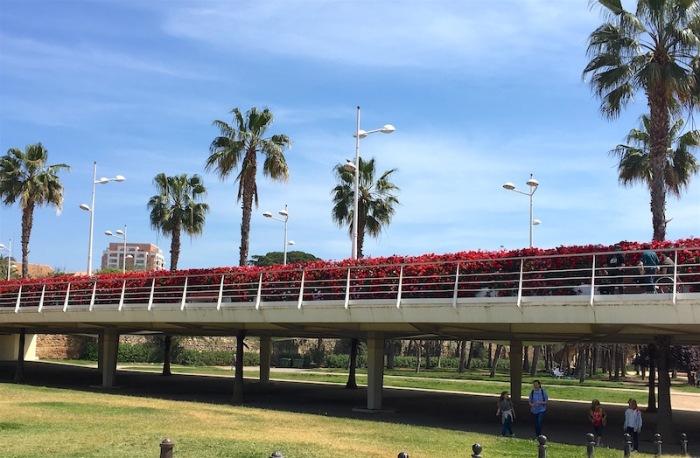 pont de flors bridge valencia spain
