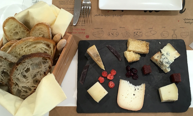 La Majada Valencia Cheese Board