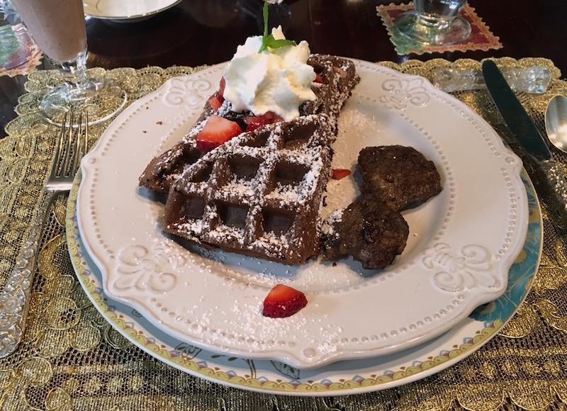 chocolate waffles 10 Clarke Frederick MD