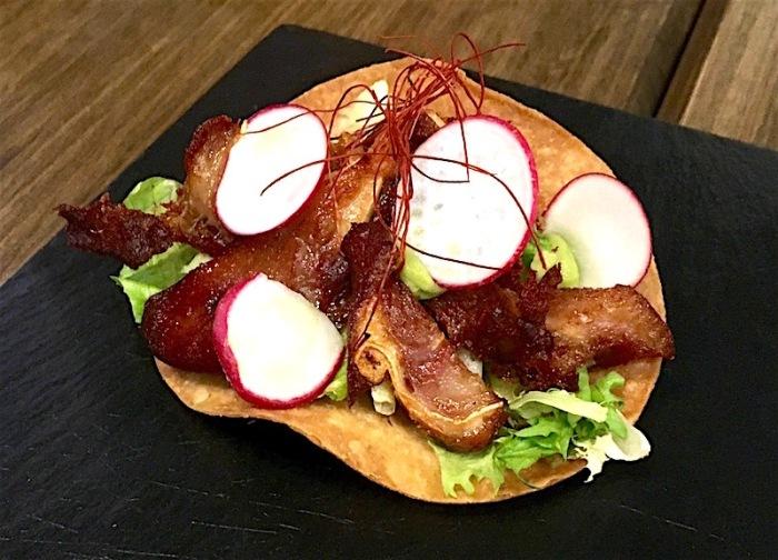 taco oreja de cerdo pigs ear atlantico valencia