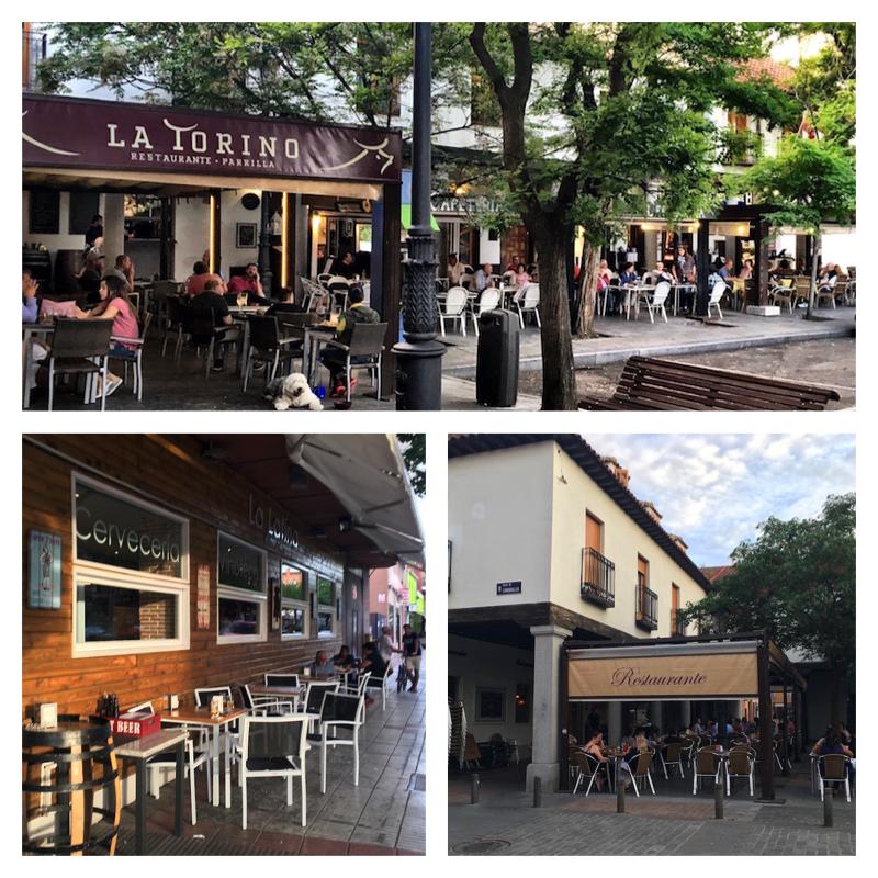 Restaurants in Barajas Madrid