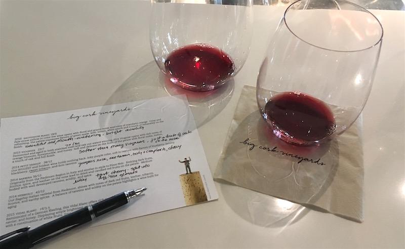 Big-Cork-Vineyards-Tasting-Notes