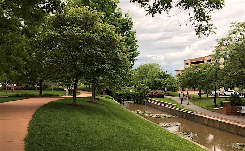 Carroll Creek Park Frederick Maryland