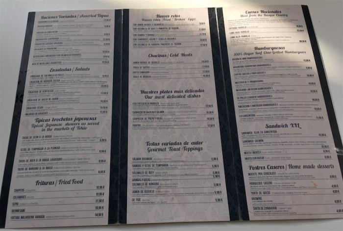 La-Consentida-menu