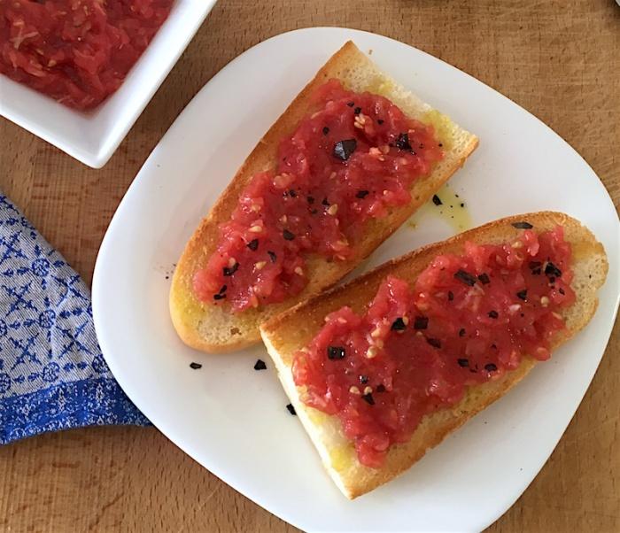 Pan con tomato bread tomato recipe