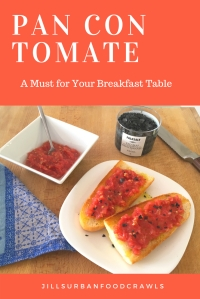 Pan Con Tomate Pinterest