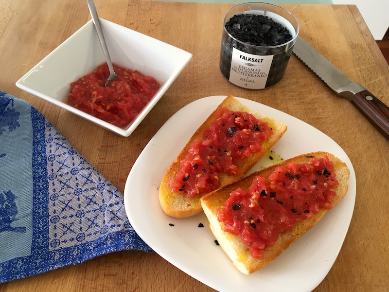 pan con tomato recipe bread tomato black salt