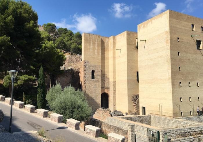 Sagunto Roman theatre entrance