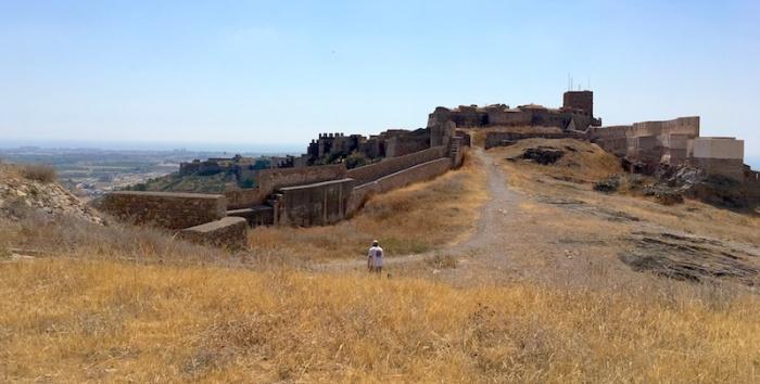Sagunto castle grounds