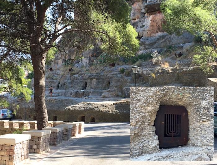 Jewish cemetery hypogenous tomb Sagunto Spain