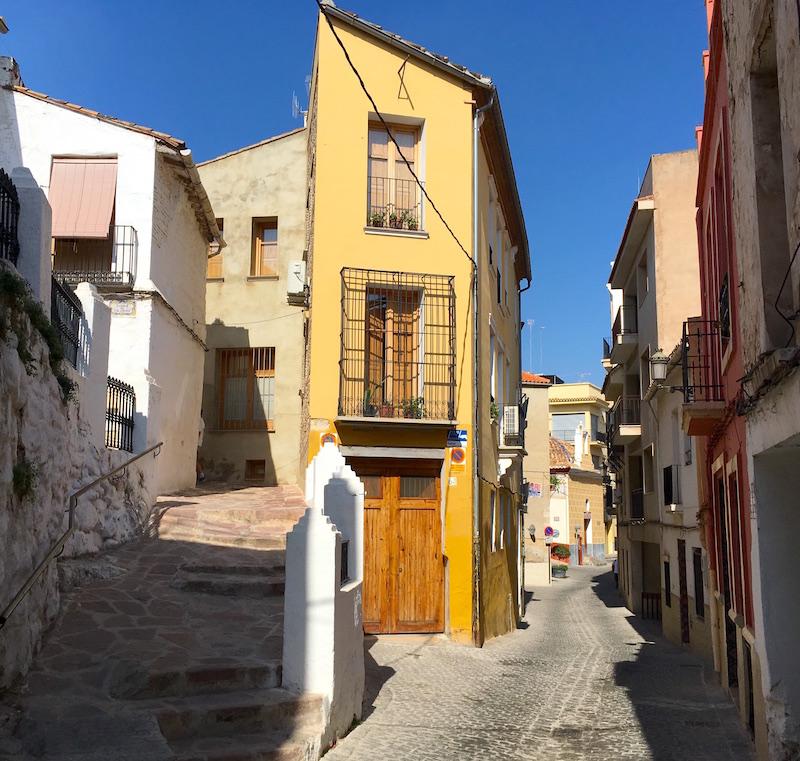 Streets of Sagunto Spain