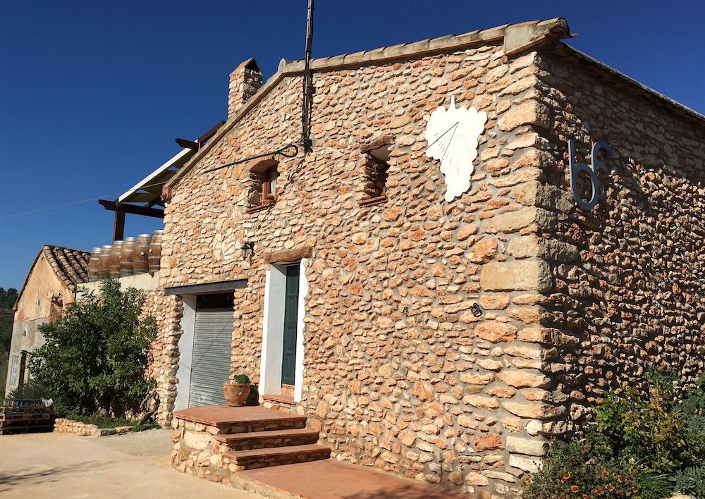 Bodega Flors stone house Castellon Spain