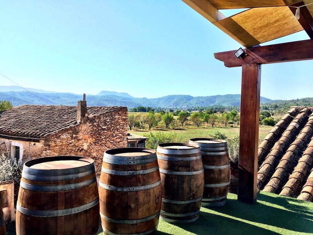 Bodega Flors mirador view Castellon Spain