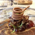 tuna con salsa de yema karak valencia