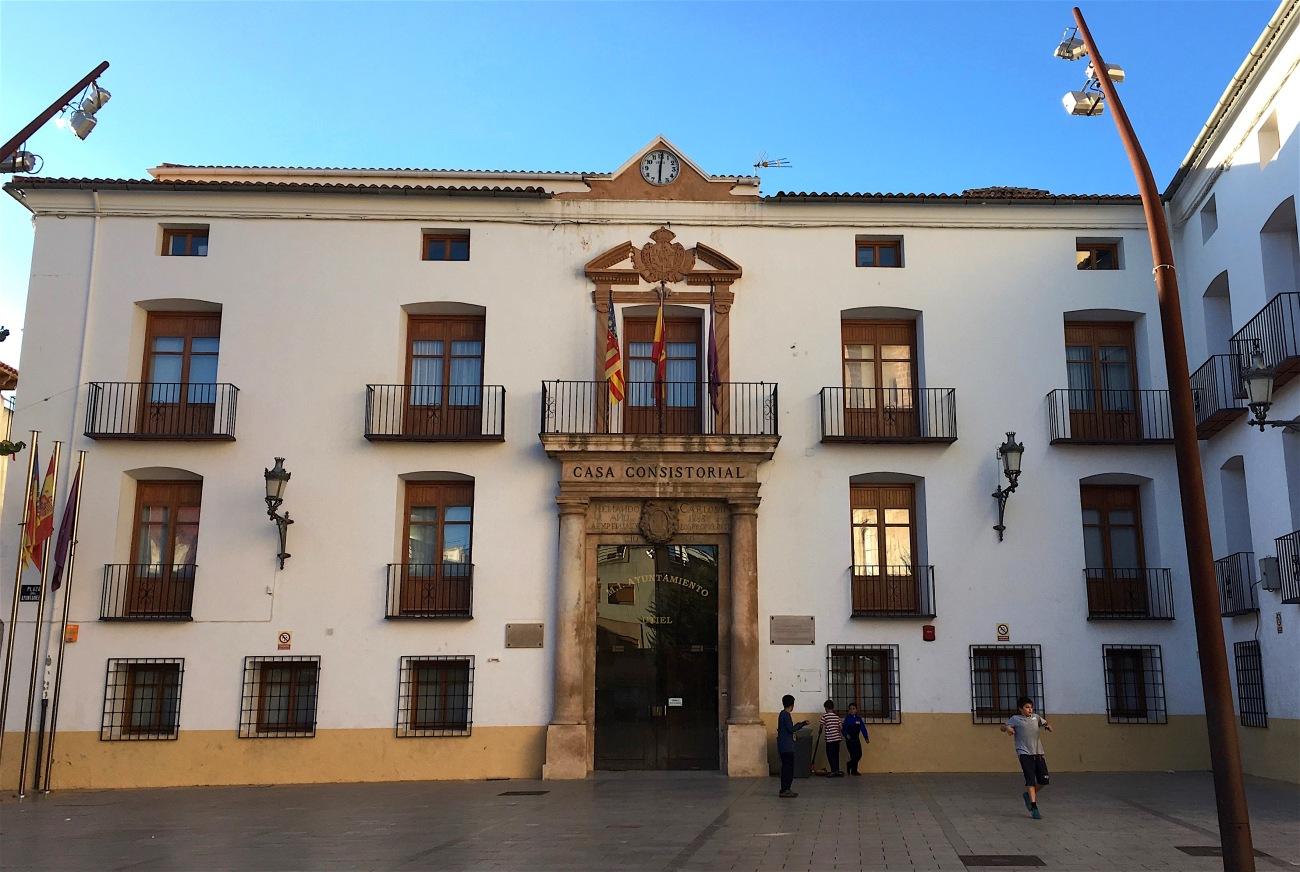 utiel spain ayuntamiento town hall