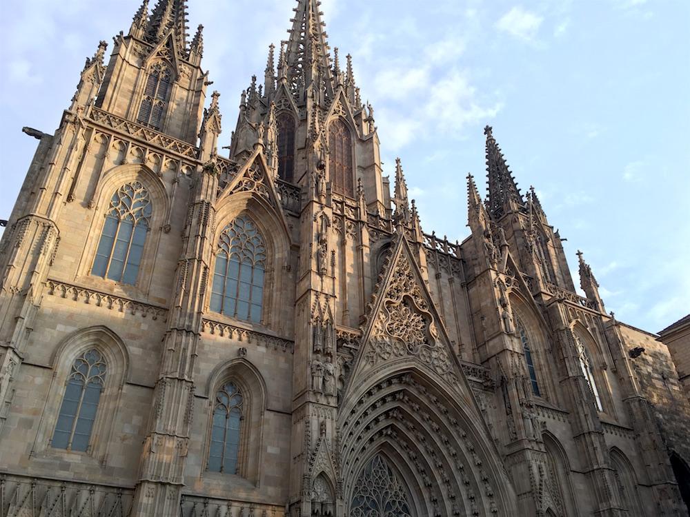 Barcelona-Cathedral-Landscape