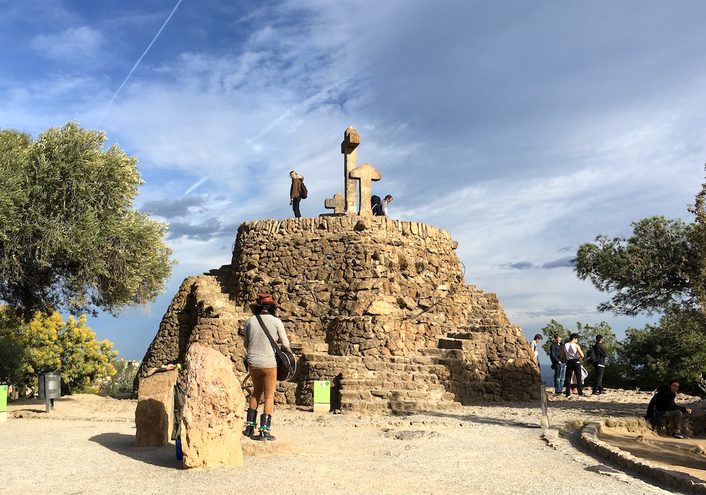 Parc-Guell-Cross