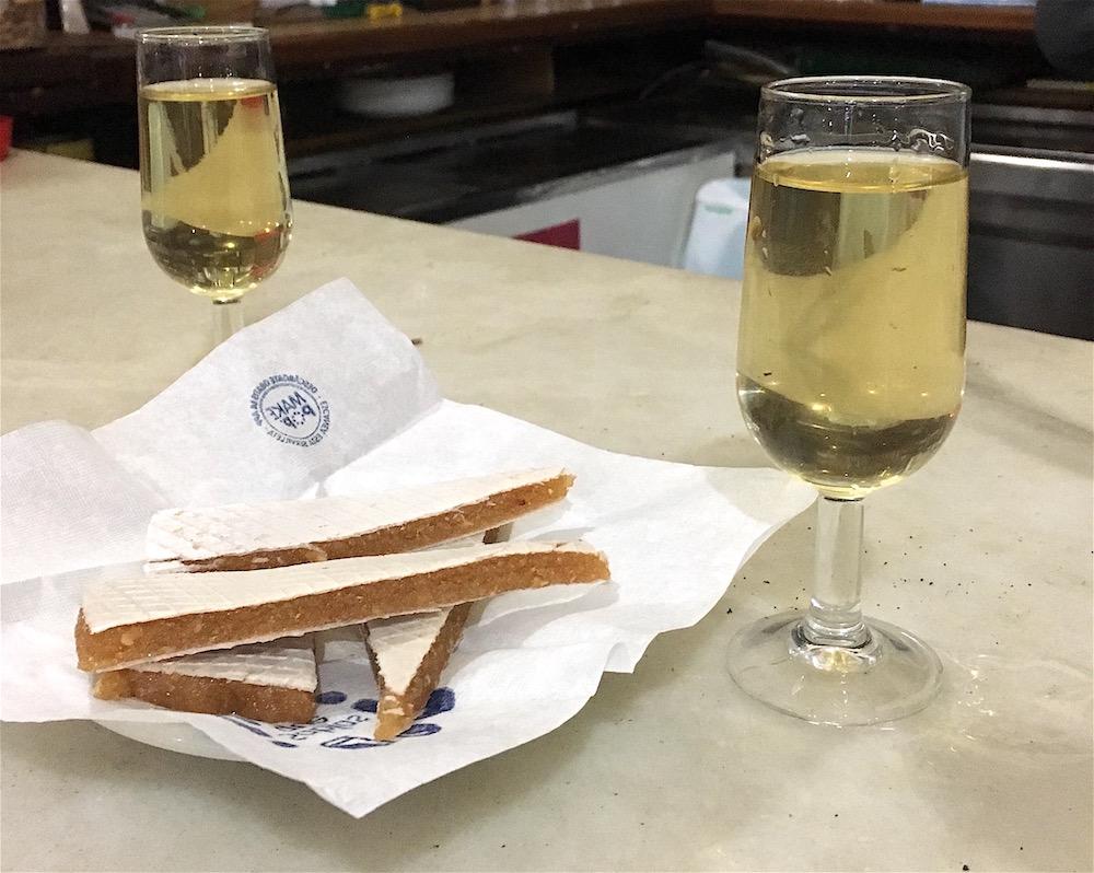 Alajú mistela wine Salon Perez