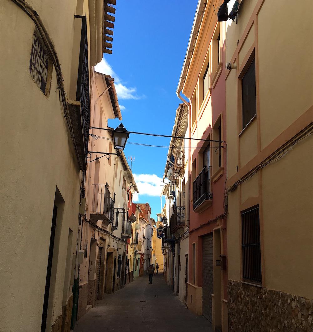 Narrow streets of Utiel