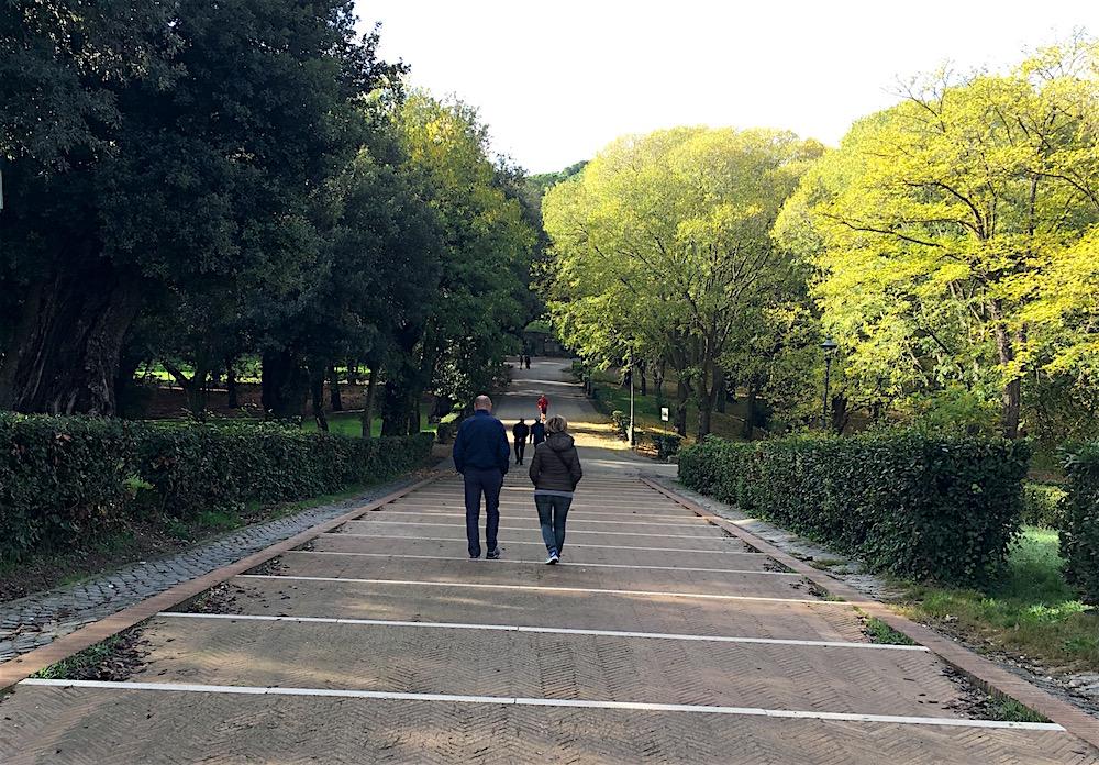 Villa Borghese Garden Path