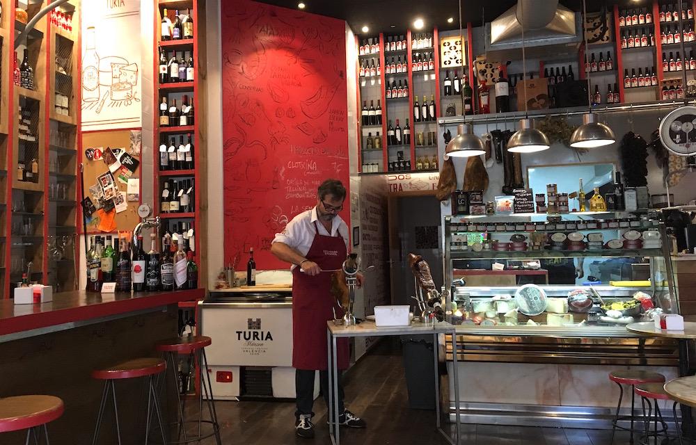 Colmado LaLola tapas bar Valencia Spain