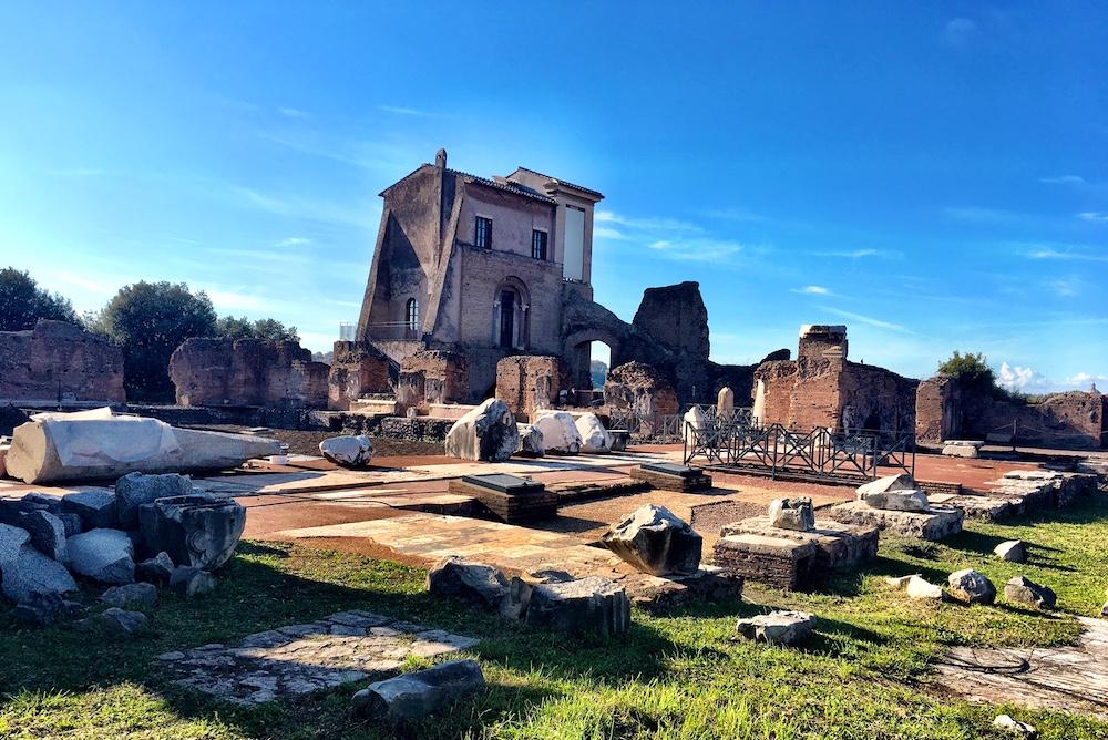 Domus Flavia Palatine Rome Italy