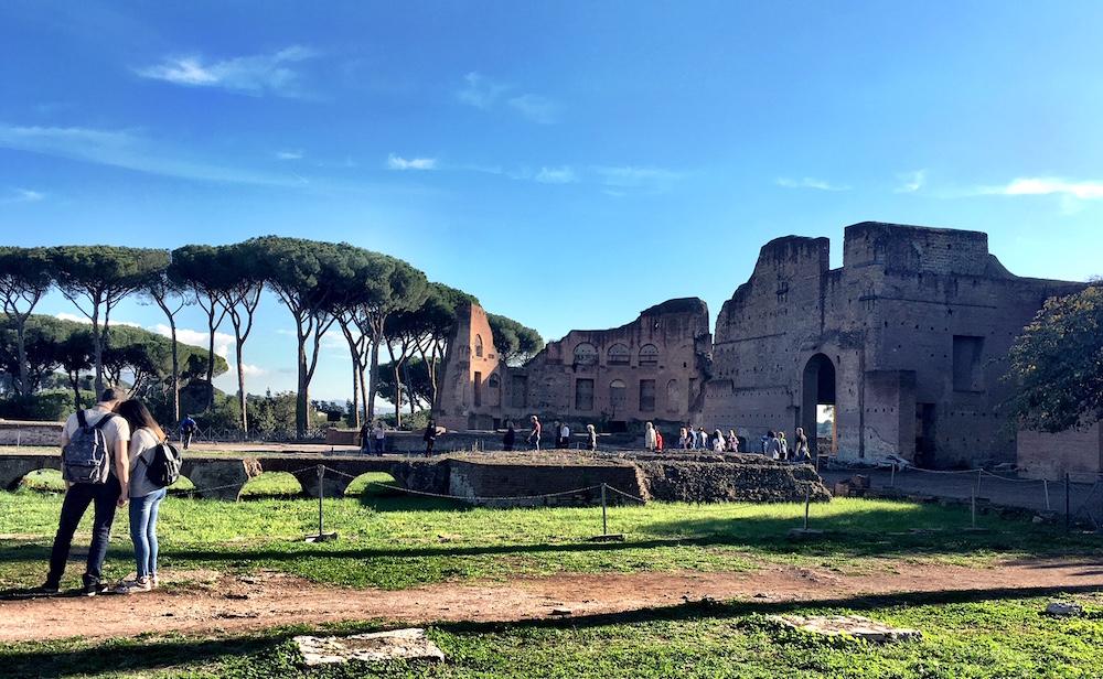 Domus Augustana Palatine Rome Italy