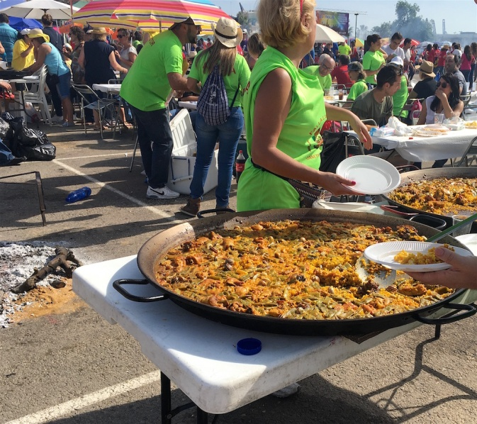 Parking Lot Paella Fiesta