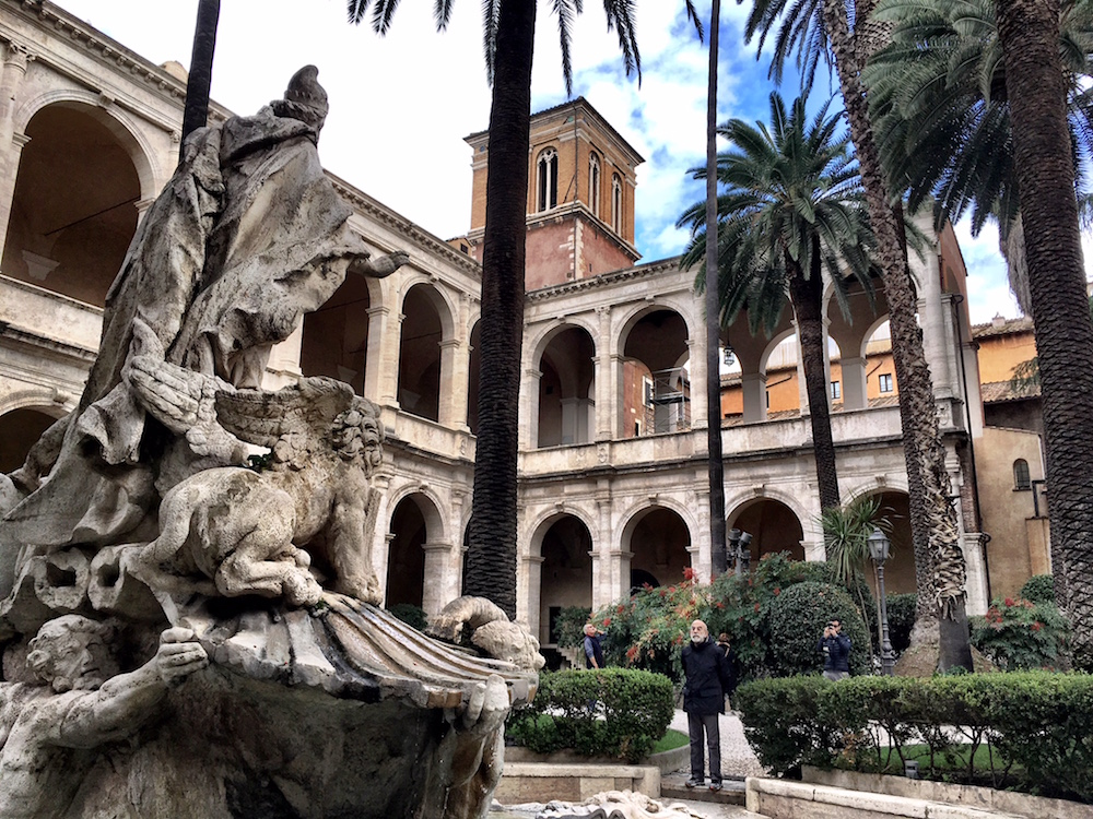 Rome-Courtyard