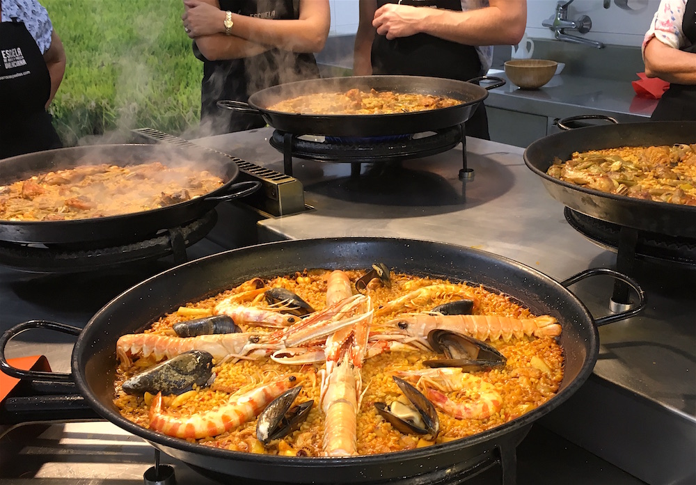 School seafood paella 2