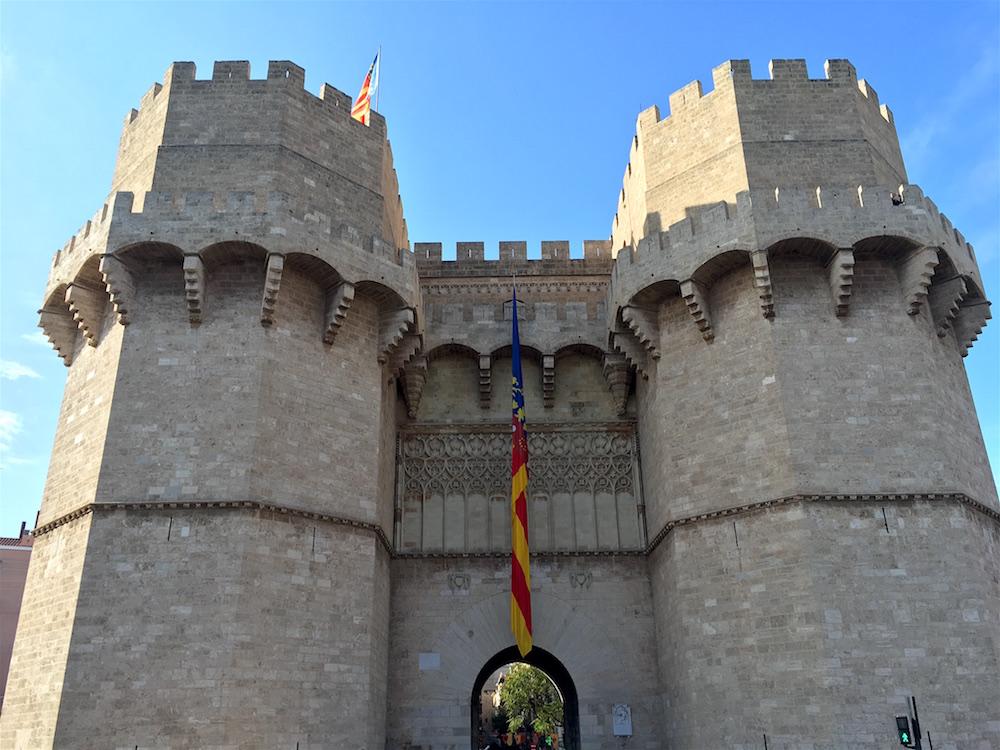 Torres de Serranos Valencia Spain