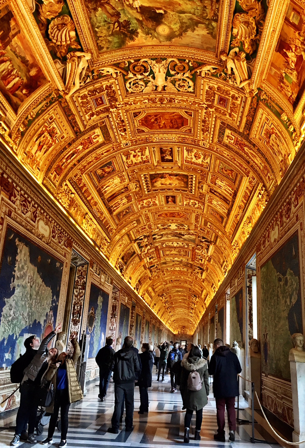 Vatican-Museum-Gallery-of-Maps-Ceiling