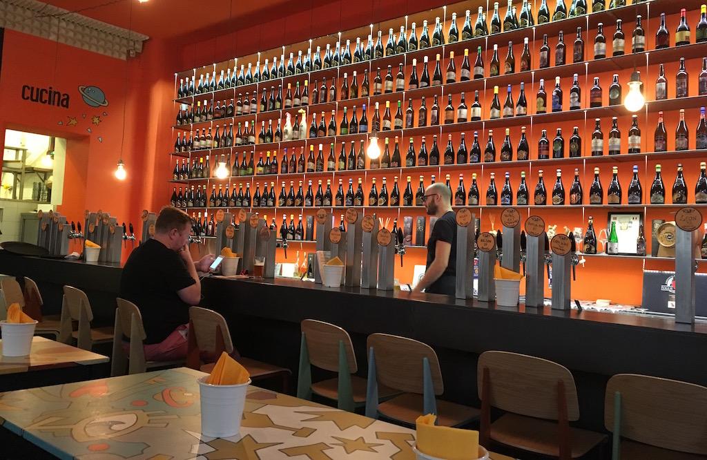 Open Baladin Bar Rome Italy