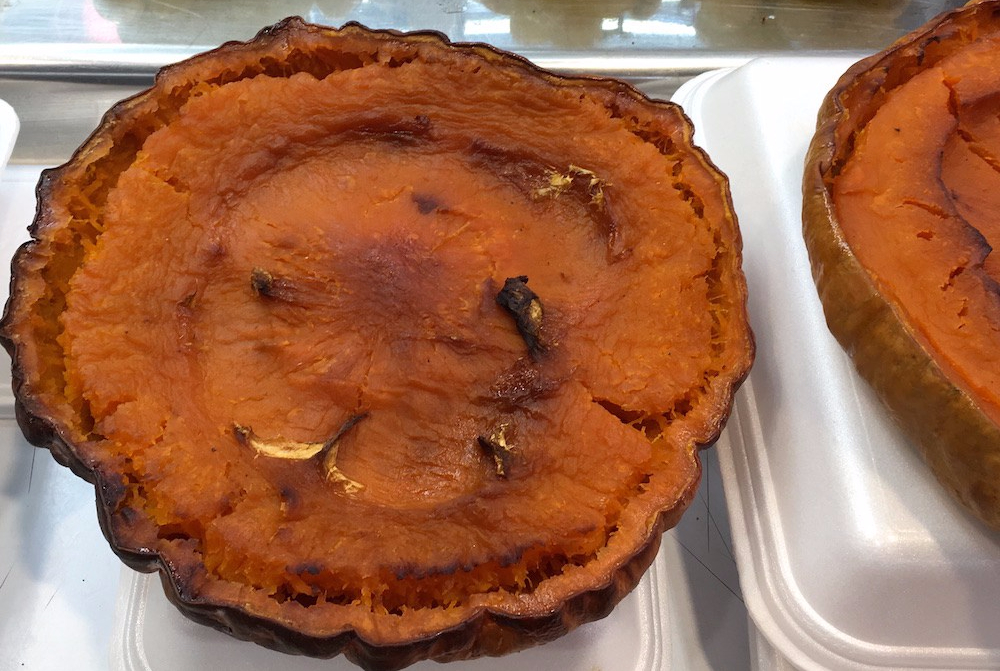 Calabaza asada Roasted Pumpkin Mercado Spain