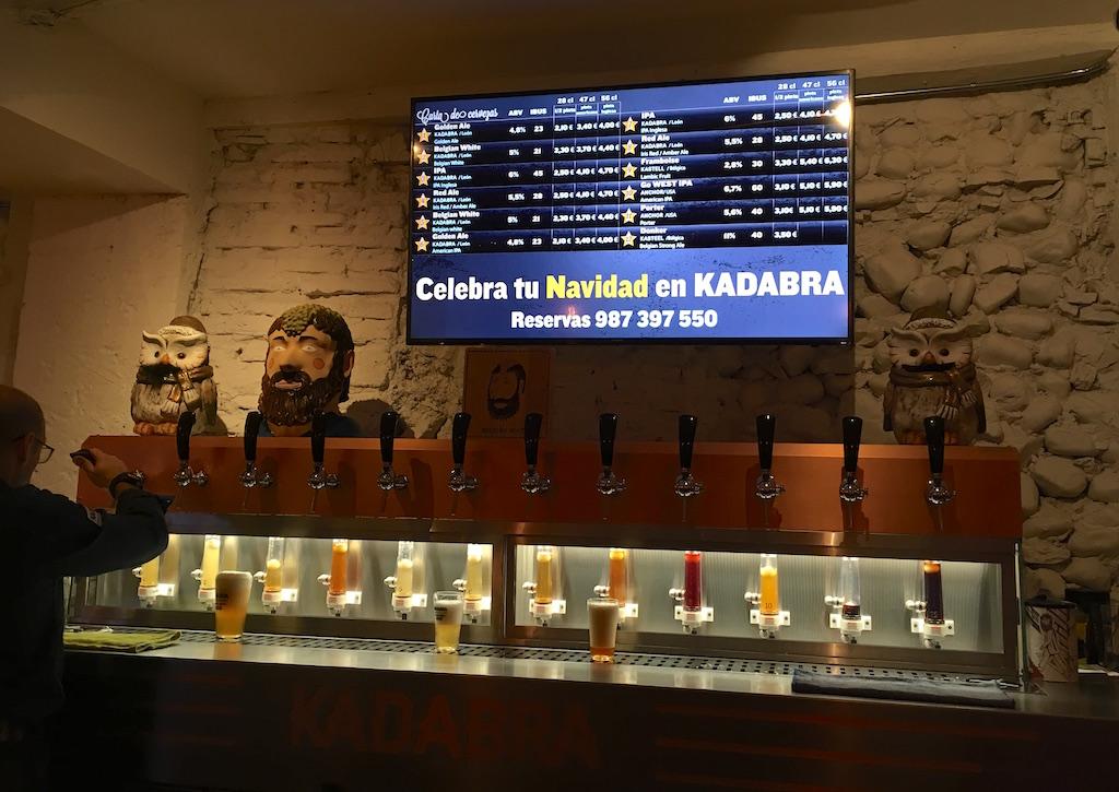Kadabra-Tap-List