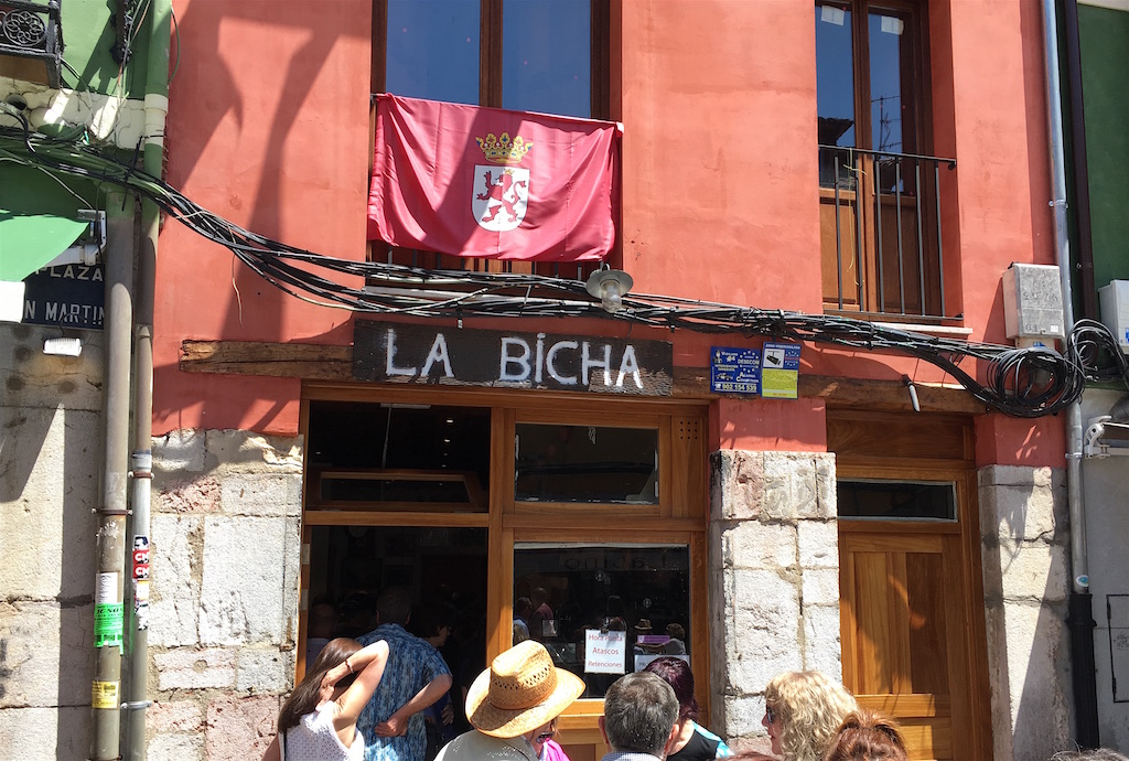 La Bicha Tapas Bar Leon Spain