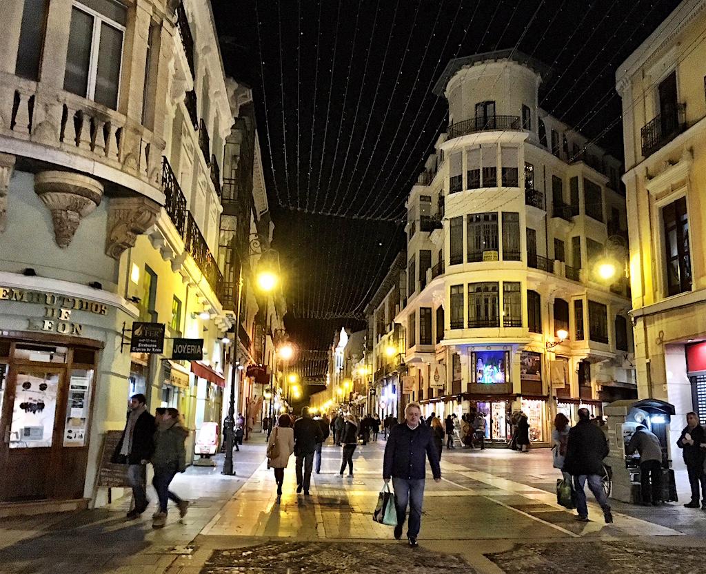 Calle Ancha Leon Spain
