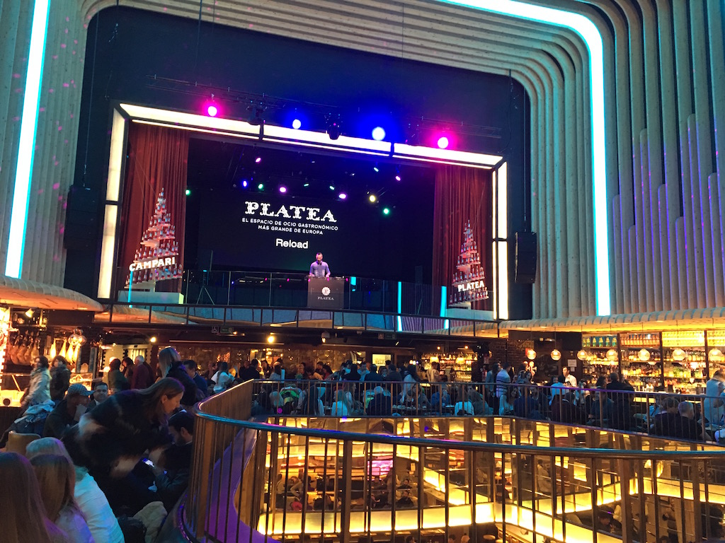 Platea-Madrid-Stage