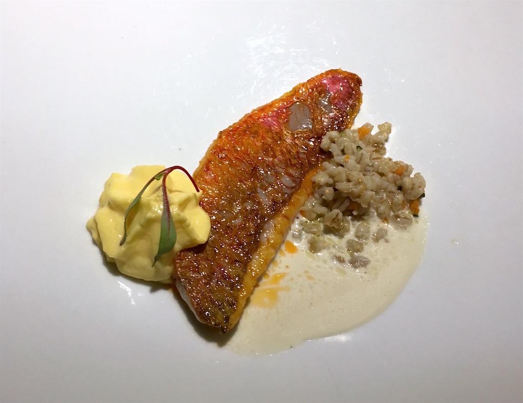 Salmonete Restaurante Albora Madrid