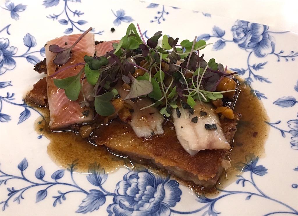 Anyora Bodega pork snout smoked eel