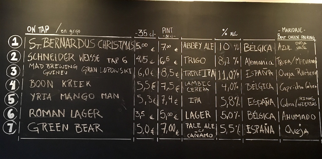 Bee-Beer-Tap-List