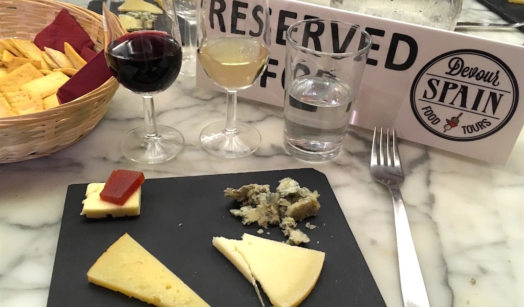 wine cheese Casa Gonzalez Madrid