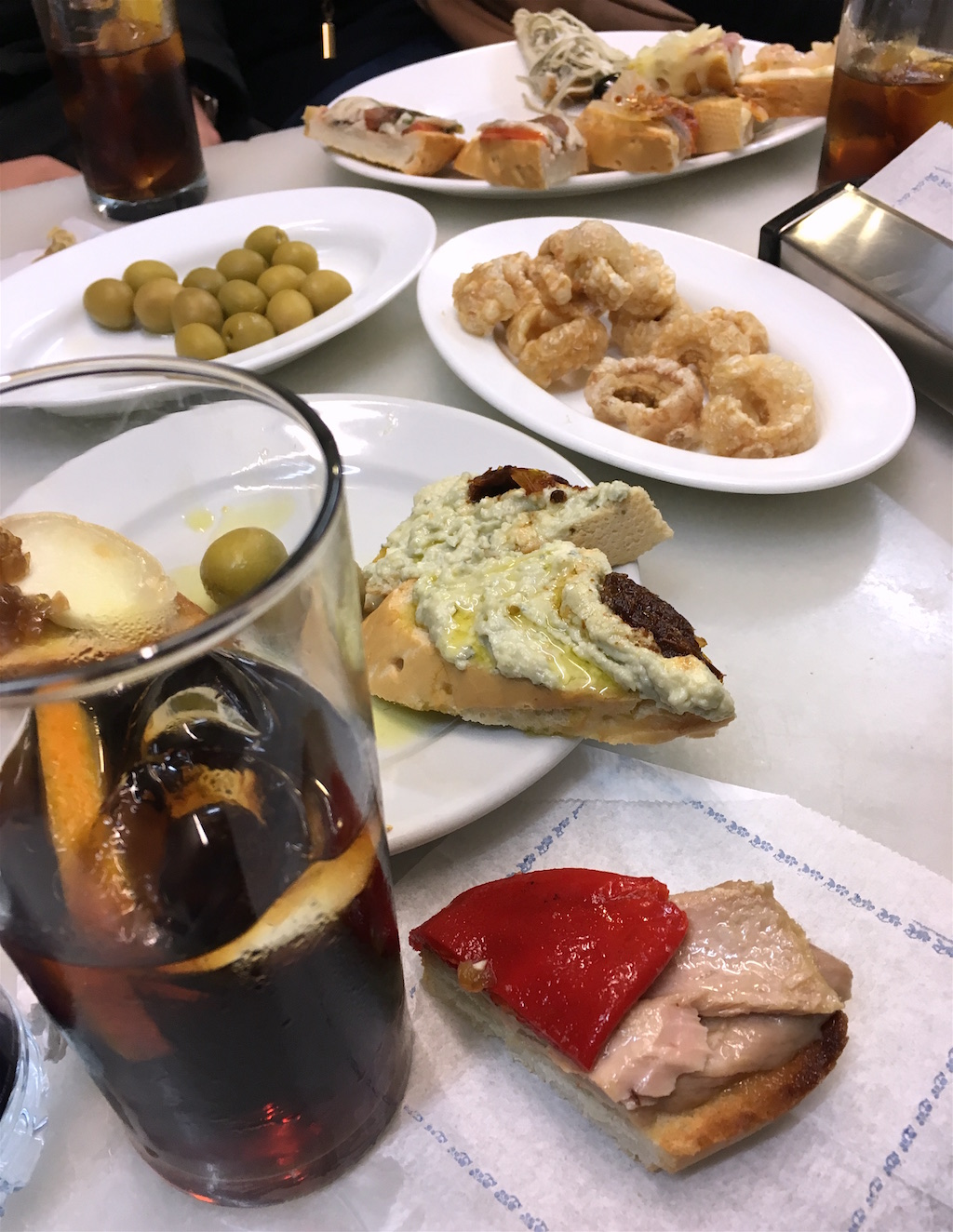 Vermouth tapas Los Gatos Madrid